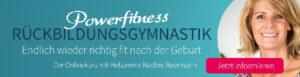 Rückbildungsgymnastik Online mit Nadine Beermann